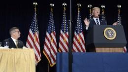 President Donald Trump. 08 February 2018. EPA, MIKE THEILER , POOL