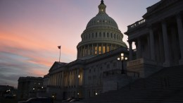 FILE PHOTO. The US Capitol building is seen at dusk in Washington, DC, USA. EPA, MICHAEL REYNOLDS
