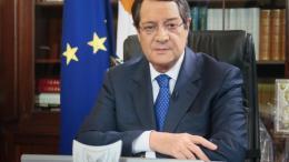 Ο απερχόμενος και υποψήφιος πρόεδρος της Κύπρου Νίκος Αναστασιάδης. Φωτογραφία ΚΥΠΕ.