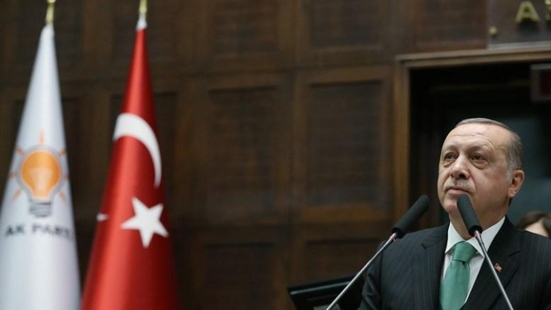 Ο Ερντογάν απειλεί ανοιχτά Ελλάδα και Κύπρο μετά και το νέο επεισόδιο στα Ίμια. Φωτογραφία Αρχείου via Τουρκική Προεδρία.