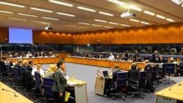 Οι επιτελείς των υπουργείων Οικονομικών της Ευρωζώνης  ενημερώθηκαν ότι μόνο 3 από τα 110 προαπαιτούμενα παραμένουν ανοιχτά. photo via Twittet #EuroWorkingGroup