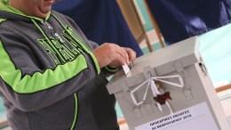 Ψηφοφόροι ασκούν το εκλογικό τους δικαίωμα στις προεδρικές εκλογές 2018. ΓΤΠ - Σ.ΙΩΑΝΝΙΔΗΣ. KYΠΕ