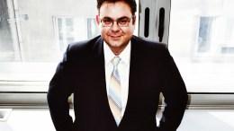 O δικηγόρος και Συμπαραστάτης του Πολίτη και της Επιχείρησης στην Περιφέρεια Αττικής, Βασίλης Σωτηρόπουλος. Φωτογραφία Αρχείου