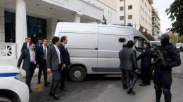 File Photo: Οι οκτώ Τούρκοι αξιωματικοί ΑΠΕ-ΜΠΕ, Παντελής Σαίτας