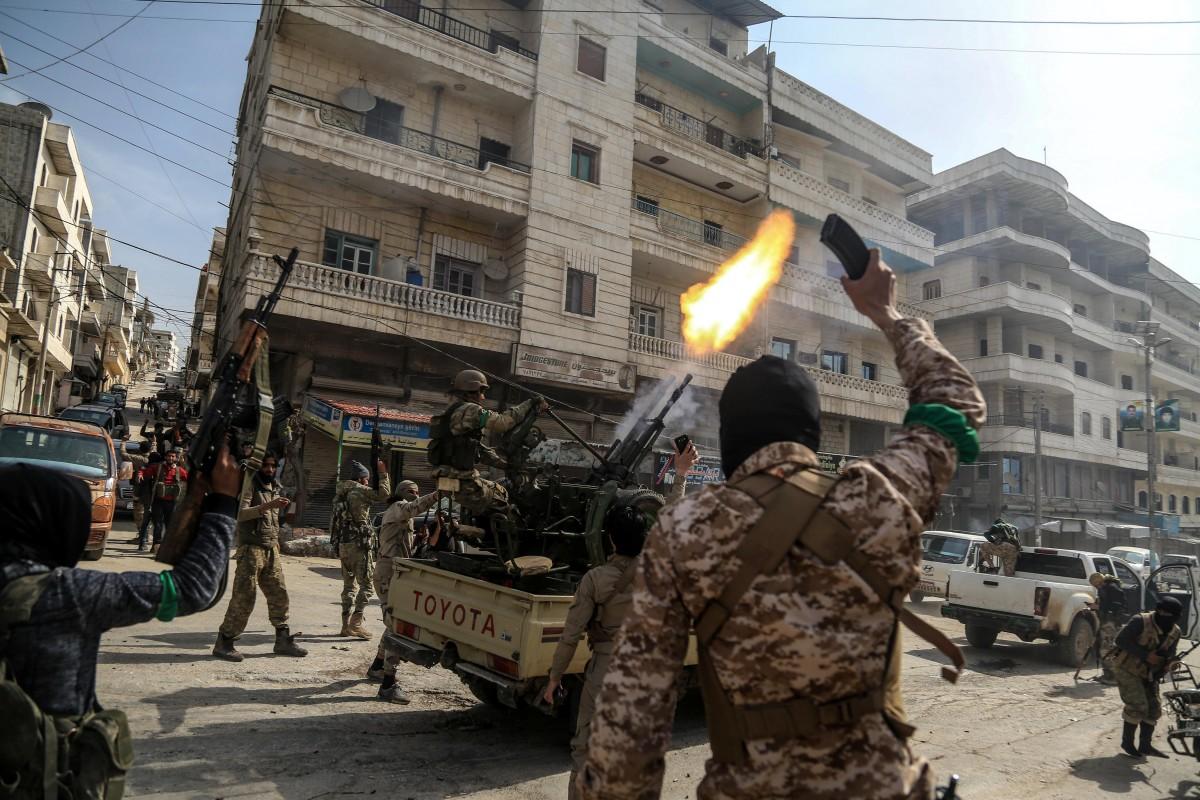 Οι Κούρδοι που πολεμούσαν το Ισλαμικό Κράτος αποχώρησαν και οδεύουν προς την Αφρίν