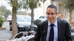 FILE PHOTO.  Ο νέος υπουργός Άμυνας της Κύπρου Σάββας Αγγελίδης προσέρχεται στο Προεδρικό. ΚΥΠΕ, ΚΑΤΙΑ ΧΡΙΣΤΟΔΟΥΛΟΥ