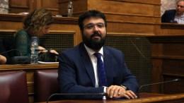 File Photo: Ο υφυπουργός Αθλητισμού Γιώργος Βασιλειάδης ενημερώνει τους βουλευτές στην κοινή συνεδρίαση της Ειδική Διαρκούς Επιτροπής Ευρωπαϊκών Υποθέσεων και της Διαρκούς Επιτροπής Μορφωτικών Υποθέσεων. ΑΠΕ-ΜΠΕ, Αλέξανδρος Μπελτές