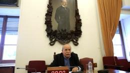FILE PHOTO.  Ο πρόεδρος της Βουλής Νίκος Βούτσης προεδρεύει στην έκτακτη Διάσκεψη των Προέδρων της Βουλής. ΑΠΕ-ΜΠΕ, ΣΥΜΕΛΑ ΠΑΝΤΖΑΡΤΖΗ