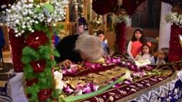 File Photo: Επιτάφιος σε ιερό ναό τη Μεγάλη Παρασκευή.  ΑΠΕ-ΜΠΕ, ΜΠΟΥΓΙΩΤΗΣ ΕΥΑΓΓΕΛΟΣ