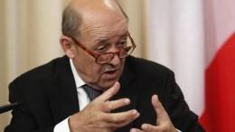 File Photo: Ο υπουργός Εξωτερικών της Γαλλίας σε παλαιότερες δηλώσεις του EPA, SERGEI CHIRIKOV