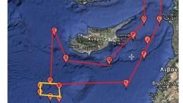 Με κίτρινη σήμανση στο χάρτη που δημοσιεύουμε είναι η περιοχή που έχει δεσμευθεί από την Κυπριακή Δημοκρατία για τη διενέργεια «περιβαλλοντικών ερευνών» από τις 11 Μαρτίου  έως τις 20 Απριλίου, εντός του Οικοπέδου 10 της κυπριακής ΑΟΖ.  Πηγή: Ισχυρή πρόκληση στην ExxonMobil: Με νέα NAVTEX η Τουρκία «περικυκλώνει» την Κύπρο.