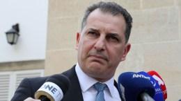 File Photo: O  Υπουργός Ενέργειας, Εμπορίου, Βιομηχανίας και Τουρισμού Γιώργος Λακκοτρύπης εξερχόμενος του Προεδρικού. ΚΥΠΕ, ΚΑΤΙΑ ΧΡΙΣΤΟΔΟΥΛΟΥ