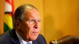 Russian Foreign Affairs minister Sergey Lavrov attends a press conference in Harare, Zimbabwe, 08 March 2018. EPA, AARON UFUMELI