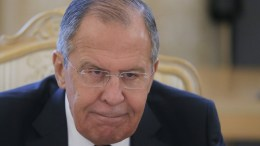 Russian Foreign Minister Sergei Lavrov attend talks with Turkish Foreign Minister Mevlut Cavusoglu (not pictured) in Moscow, Russia, 14 March 2018. According to reports, the meeting was held to discuss settlement in Syria, as well as bilateral military-technical cooperation, including the delivery of S-400 air defense missile systems to Turkey. EPA, MAXIM SHIPENKOV