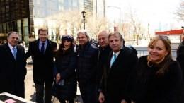 Οι ηγέτες της Ομογένειας Νίκος Μούγιαρης και Φίλιπ Κρίστοφερ με άλλους ομογενείς στη διαδήλωση για τη Μακεδονία. ΦΩΤΟΓΡΑΦΙΑ ΔΗΜΗΤΡΗΣ ΠΑΝΑΓΟΣ, GREEK NEWS