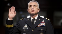 File Photo: US Army Lieutenant General Paul Nakasone before the Senate Select Committee on Intelligence hearing on his nomination to be the director of the National Security Agency (NSA), on Capitol Hill in Washington, DC, USA. EPA, MICHAEL REYNOLDS