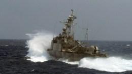 File Photo: Φωτογραφία που δόθηκε στη δημοσιότητα από το ΓΕΝ και εικονίζει πλοίο του πολεμικού ναυτικού να παίρνει μέρος στην άσκηση «ΠΑΡΜΕΝΙΩΝ». ΑΠΕ-ΜΠΕ, ΓΡΑΦΕΙΟ ΤΥΠΟΥ ΓΕΝ, STR