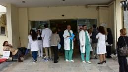 FILE PHOTO. Εργαζόμενοι Νοσηλευτικής Μονάδας. ΑΠΕ-ΜΠΕ, ΜΠΟΥΓΙΩΤΗΣ ΕΥΑΓΓΕΛΟΣ