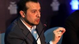 FILE PHOTO.  Ο υπουργός Ψηφιακής Πολιτικής, Τηλεπικοινωνιών & Ενημέρωσης, Νίκος Παππάς, συμμετέχει σε συζήτηση στο Οικονομικό Φόρουμ Δελφών. ΑΠΕ-ΜΠΕ, ΟΡΕΣΤΗΣ ΠΑΝΑΓΙΩΤΟΥ