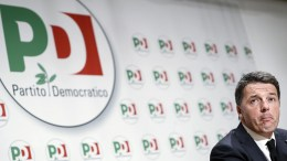 FILE PHOTO. Democratic Party (PD) leader Matteo Renzi during a press conference in Rome, Italy, 05 March 2018. Italy's former Premier Matteo Renzi. EPA, RICCARDO ANTIMIANI