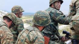 Στιγμιότυπο από δραστηριότητα του Ελληνικού Στρατού.  Φωτογραφία Γενικό Επιτελείο Στρατού