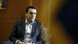 File Photo: Ο Αλέξης Τσίπρας στο μέγαρο Μαξίμου ΑΠΕ-ΜΠΕ, ΓΙΑΝΝΗΣ ΚΟΛΕΣΙΔΗΣ