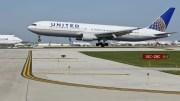 File Photo:  A United Airlines jet  EPA, KAMIL KRZACZYNSKI
