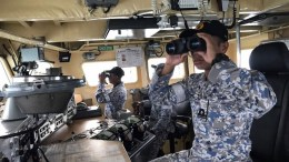 File Photo: Royal Malaysian Navy searching for missing sailors of the U.S destroyer USS John S. McCain off the coast of Malaysia. EPA, ROYAL MALAYSIAN NAVY