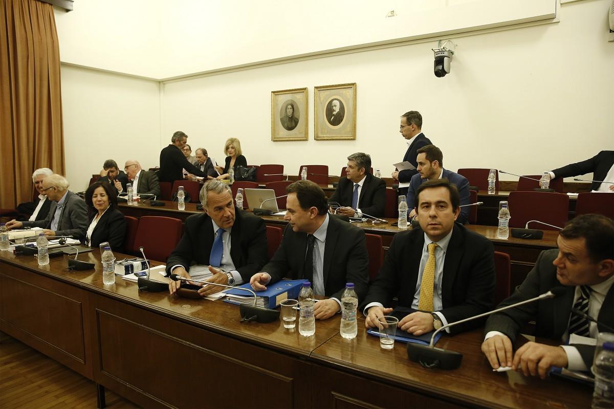 File Photo: Συνεδρίαση της Ειδικής Κοινοβουλευτικής Επιτροπής για την υποθεση Novaris. ΑΠΕ-ΜΠΕ, ΑΛΕΞΑΝΔΡΟΣ ΒΛΑΧΟΣ