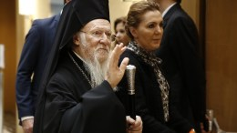 File Photo: Ο Οικουμενικός Πατριάρχης Βαρθολομαίος ΑΠΕ-ΜΠΕ, ΑΛΕΞΑΝΔΡΟΣ ΒΛΑΧΟΣ