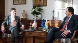 File Photo: Ο Υπουργός Εξωτερικών κ. Νίκος Χριστοδουλίδης με τον Υφυπουργό Εξωτερικών των ΗΠΑ, αρμόδιο για Ευρωπαϊκές και Ευρασιατικές Υποθέσεις δρα Wess Mitchell.  ΓΤΠ, Σ. ΙΩΑΝΝΙΔΗΣ