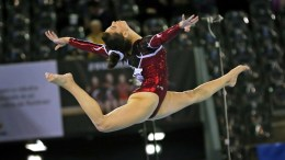 File Photo: Η Ελληνίδα αθλήτρια σε παλαιότερους αγώνες EPA, ROBERT GHEMENT