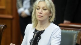 File Photo: Russian Foreign Ministry spokeswoman Maria Zakharova EPA, ANDREJ CUKIC