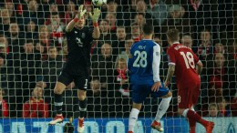 Iker Casillas of FC Porto in action during the UEFA Champions League round of 16 second leg soccer match held at Anfield, Liverpool, Britain, 6 March 2018. EPA, Peter Powell