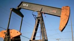 File Photo: Oil pumps near Taft, California, USA. EPA, SEAN MASTERSON