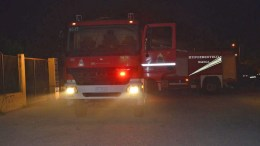 File Photo: Πυροσβεστικό όχημα σε σημείο επίθεσης με γκαζάκι ΑΠΕ-ΜΠΕ, ΜΠΟΥΓΙΩΤΗΣ ΕΥΑΓΓΕΛΟΣ