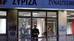 Τα γραφεία του ΣΥΡΙΖΑ στην Κουμουνδούρου. ΑΠΕ-ΜΠΕ, ΣΥΜΕΛΑ ΠΑΝΤΖΑΡΤΖΗ
