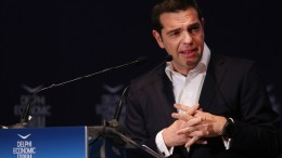 Ο πρωθυπουργός Αλέξης Τσίπρας στην ομιλία του στο Οικονομικό Φόρουμ Δελφών που γίνεται στο Ευρωπαικό Πολιτιστικό Κέντρο Δελφών, Παρασκευή 2 Μαρτίου 2018. ΑΠΕ-ΜΠΕ, ΟΡΕΣΤΗΣ ΠΑΝΑΓΙΩΤΟΥ