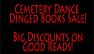 Cemetery Dance Dinged Book Sale