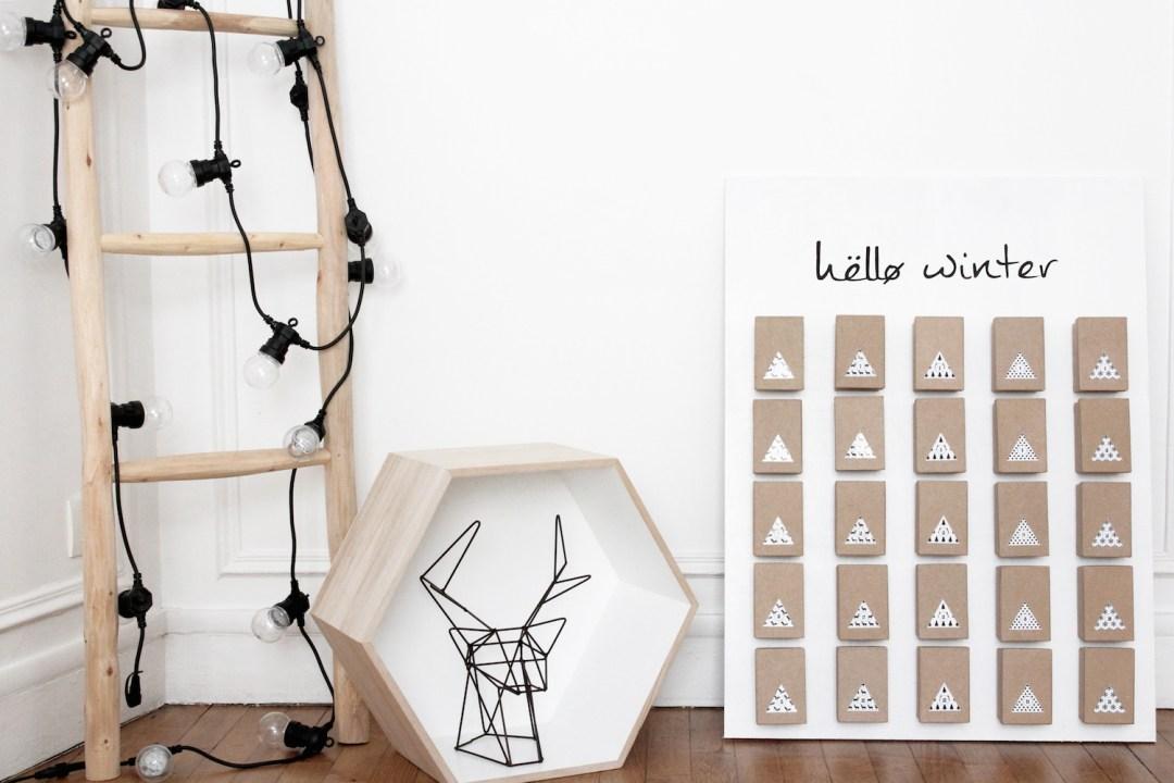 diy un calendrier de l 39 avent by les cocottes events. Black Bedroom Furniture Sets. Home Design Ideas