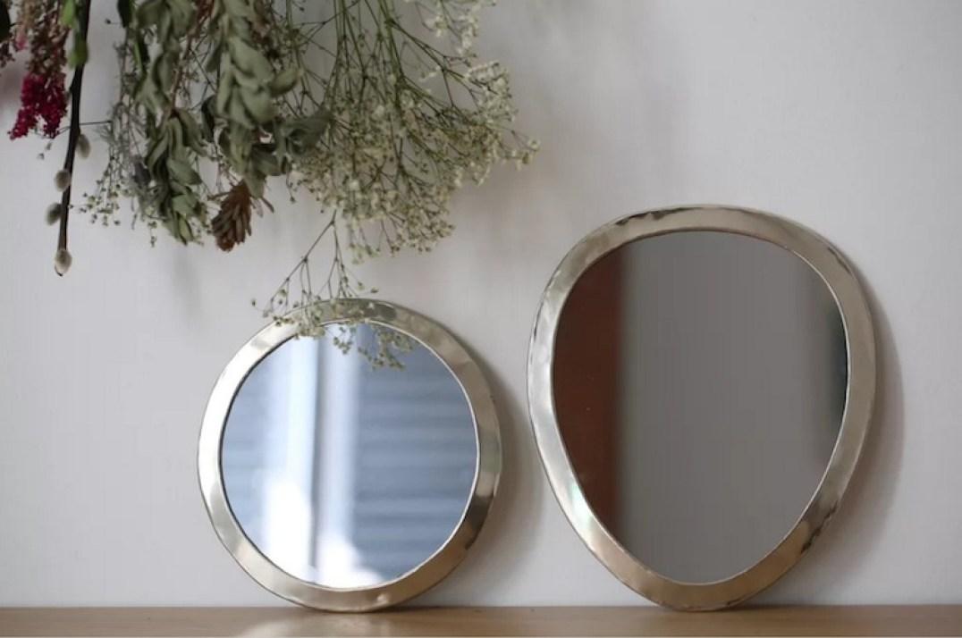miroirs en cuivre // Hëllø Blogzine blog deco & lifestyle www.hello-hello.fr