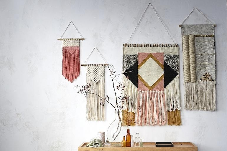 l 39 objet du d sir les tissages boho cyrillus h ll blogzine. Black Bedroom Furniture Sets. Home Design Ideas
