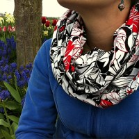 Tutorial- How To Sew An Infinity Scarf 30 Minute Project