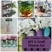 DIY and Craft Mason Jar Projects and Tutorials