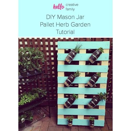 Medium Crop Of Diy Pallet Herb Garden