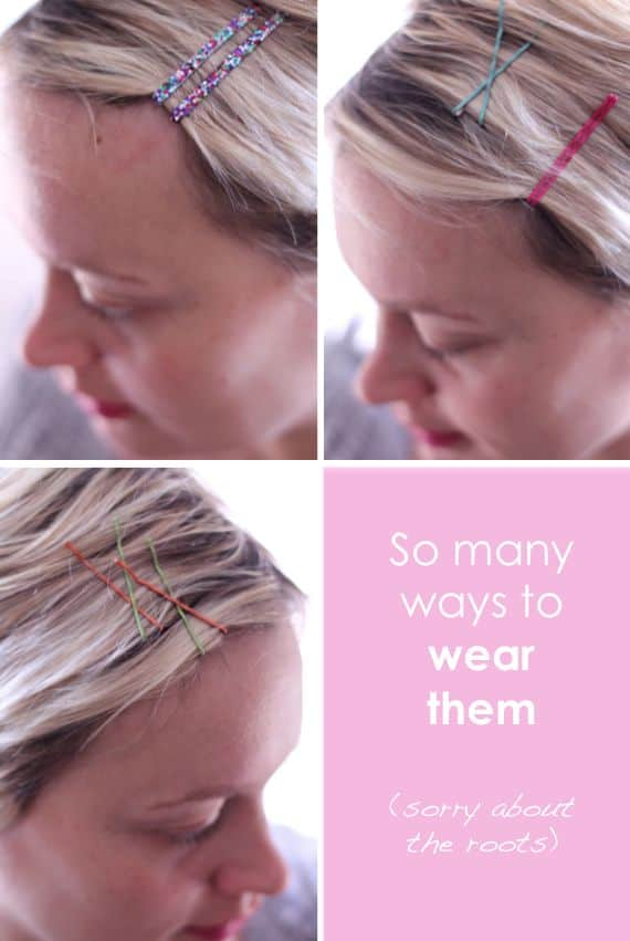 cute diy bobby pins