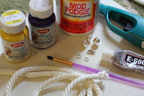 make your own rope necklace