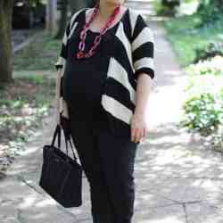 Maternity Style | Stripes & Pink (& Surviving the Last Month)