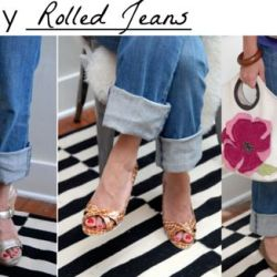 4 Ways to Wear Rolled Jeans