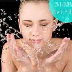 25 Homemade Beauty Recipes